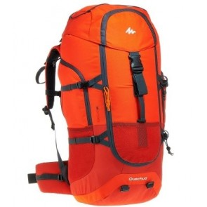 Large Rucksack on Rent | Forclaz 60 Backpack Red | 1809071 | Rental-All-India