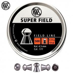 buy RWS Super Field (0.177) Cal. 500 Pellets | Round Head best price 10kya.com