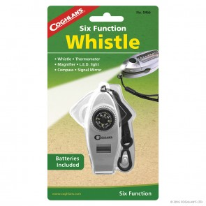 Buy Online India Coghlans Six Function Whistle | 466 | 10kya.com Coghlans India Adventure Store Online