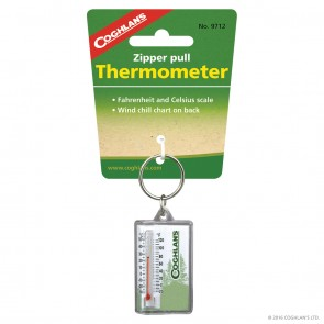Buy Online India Coghlans Zipper Pull Thermometer | 9712 | 10kya.com Coghlans India Adventure Store Online