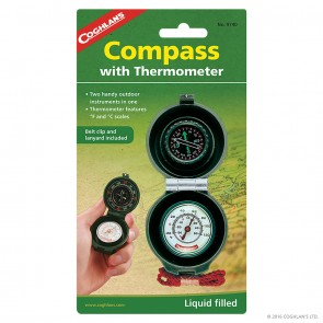 Buy Online India Coghlans Compass Thermometer | 9740 | 10kya.com Coghlans India Adventure Store Online