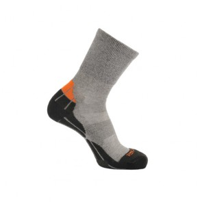 buy online Horizon Coolmax Hiker (Technical Socks)-Grey+Black+Orange | HZ0005 Best price | 10kya.com