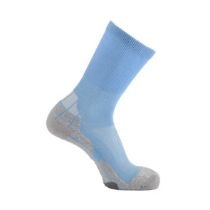Horizon Coolmax Hiker (Technical Socks)-Sky+Grey+Cream | HZ0005