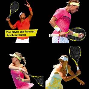 Babolat AERO Junior 25 Racquet | Pre-Strung | Yellow Black [ HSN 95