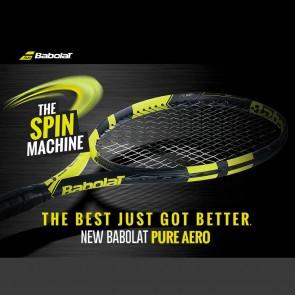 Babolat AERO Junior 26 Racquet | Pre-Strung | Yellow Black [ HSN 95