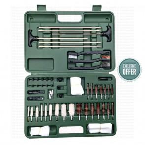 AeroGunSmith Universal Gun Cleaning Kit | 62 pieces kit | Airgun Cleaning & Maintenance - AG0015 [ HSN 96039000