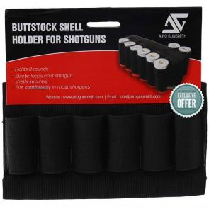AeroGunSmith Butt Stock Shell Holder For Shotguns | Shotgun Accessories - AG0012 [ HSN 56090090
