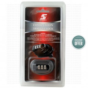 AeroGunSmith Universal Trigger Combination Lock | Airgun Protection & Safety