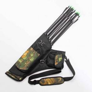 Archery Quiver - 12-24 Sling Arrow Bag | 10kya.com Archery Bow & Arrow Store Online India