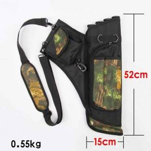Archery Quiver for Arrows | Arrow Shoulder/Waist Bag for 12-24 Arrows | Archery Bows & Arrows Accessories Bags India [HSN 95069990