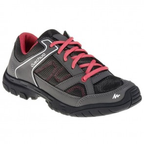 Quechua ARPENAZ 50 JR SHOES LACES PINK | FOOTWEAR UK - 1.5 [ HSN 64
