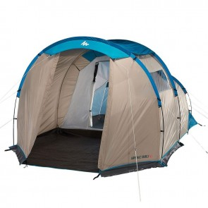 Camping Rental India Luxury 4 Person BR+Hall Tent on Rent | Arpenaz 4.1 Family Camping Tent