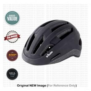 Buy Pre-Owned B'twin Urban Helmet 7 Black Medium (53-58 cm) | 10kya.com New & Used Stuff Store
