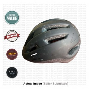 Buy Pre-Owned B'twin Urban Helmet 7 Black Medium (53-58 cm)