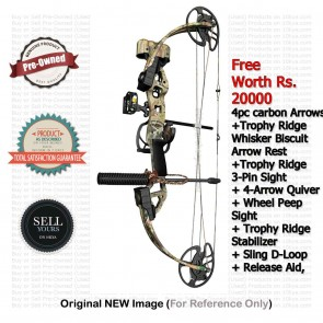 Buy Pre-Owned Bear Outbreak Compound Cross Bow | 10kya.com Buy Sell Used Crossbows India