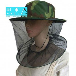 Hat with Full Face Mosquito Insect Net | Bee Keeping, Fishing, Outdoor Bug Protection Cap with Netting [HSN 6501