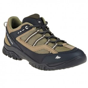 Quechua ARPENAZ 100 GREEN SHOES | FOOTWEAR UK - 11 [ HSN 64
