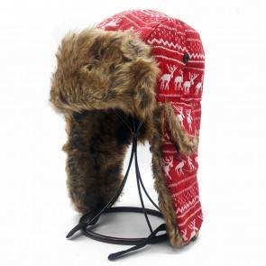 10Dare Russian Ushanka Cap Red | Outdoor Winter Gear | India's Biggest Caps/Hat Store  | 10kya.com