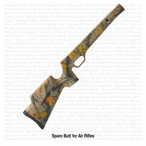 Camouflage Finish Butt for Precihole NX-100 SX-100 Air Rifles | 10kya.com Airgun India