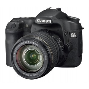 Basic DSLR on Rent | Canon 40D with 18-55 mm Lens