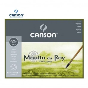 Canson Moulin du Roy - Fine Grain 4 Side Glued Pad 300 gsm | 10kya.com Art & Craft Supplies