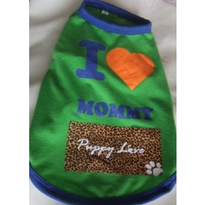 Puppy Love - I Love Mommy - Talking Tees - Small/Medium