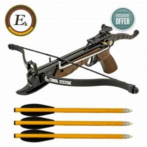 EK Archery Cobra Aluminium Pistol Xbow Oak Camo | 10kya.com Archery Store Online