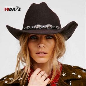 10Dare Cowboy Hat  Tan/Camel/Khaki   Stetsons, Fedoras, Sombreros Sun Hats   Pure Felt Material Light Tan Colour   Outdoor Headgear [HSN 6501