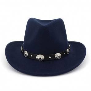 10Dare Cowboy Hat   Blue   Stetsons, Fedoras, Sombreros Sun Hats   Pure Felt Material Light Tan Colour   Outdoor Headgear [HSN 6501