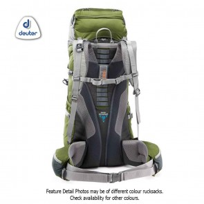 Deuter ACT Lite 65+10 Pine Granite (Green Grey) Rucksack | 4046051058122 | Trekking & Hiking Backpacks [ HSN 4202