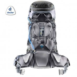 Deuter AIRCONTACT 45 + 10 Litre Granite-Black (Grey-Black) Rucksack | 4046051069388 | Trekking & Hiking Backpacks [ HSN 4202