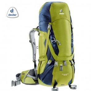 Deuter AIRCONTACT 45 + 10 Litre Green Blue | 10kya.com Deuter Online Store India