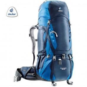 Deuter AIRCONTACT 65 + 10 Litre Blue | 10kya.com Deuter Online Store India