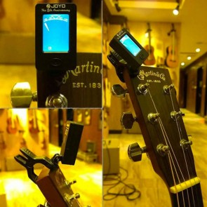 Electronic Guitar Tuner | Clip On Tuner for String Instruments | Musical Accessories