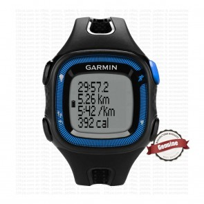Garmin Forerunner 15 Large  - Black & Blue | 10kya.com Garmin Watches Online Store