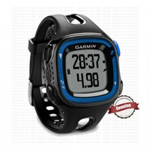 Garmin Forerunner 15 Large  - Black & Blue
