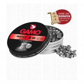 buy Gamo Match (0.177) Cal-7.87 Grains-500 Pellets | Wadcutter Head on 10kya.com
