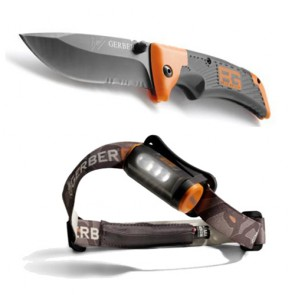 Gerber Scout & Hands Free Torch Combo - Survival [ HSN 93070000