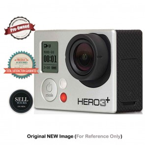 Pre-Owned Go-Pro Hero3+ Silver Camera | 10kya.com Buy Sell Used Cameras India