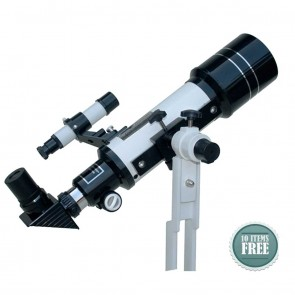 Star Tracker Refractor Telescopes | 70/400  Table Top TravelScope HOTSTAR | Telescope [ 28x to 350x ] [ HSN 90058010
