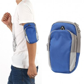 Arm Band Bag for iPhone & Android Phones | Blue Bag for Mobile [HSN 4202