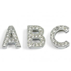 Puppy Love - Slide Letters With Clear Rhinestones