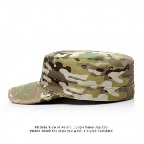 10Dare Camo Army Patrol Cap   C7 Light Jungle Camo   59cm Head, 8.5 CM High   Indian & US Army Jungle Cap for Men & Women   Cotton   Outdoor Headgear [HSN 6501