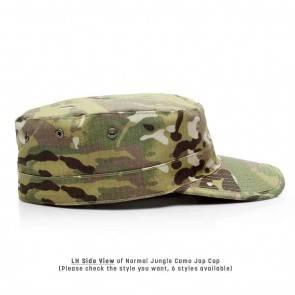 10Dare Camo Army Patrol Cap   C1- Jungle Camo   59cm Head, 8.5 CM High   Indian & US Army Jungle Cap for Men & Women   Cotton   Outdoor Headgear [HSN 6501