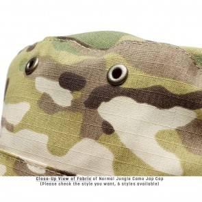 10Dare Camo Army Patrol Cap | C3- Digital Jungle Camo | 59cm Head, 8.5 CM High | Indian & US Army Jungle Cap for Men & Women | Cotton | Outdoor Headgear [HSN 6501