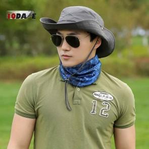 10Dare Jungle Outdoor Wide Brimmed Sun Hats   54-60 cm Adjustable   Black   Outdoor Headgear [HSN 6501