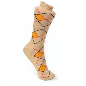 buy Criss Cross Design Cream Socks - 1 Pair | kcreamcrosspc01 best price 10kya.com