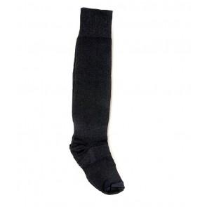 International Standard Design Black Football Socks - 1 Pair | kfootballblackpc01