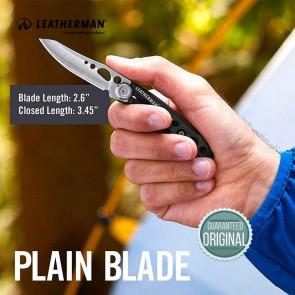 Leatherman Skeletool KBX Pocket Knife (Black) Multi Tool - 037447696480 | Made in USA |