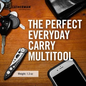 Leatherman Skeletool KBX Pocket Knife (Blue) Multi Tool - 37447752339 | Made in USA |